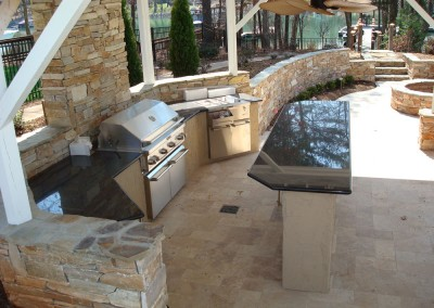 OutdoorKitchenby Lake