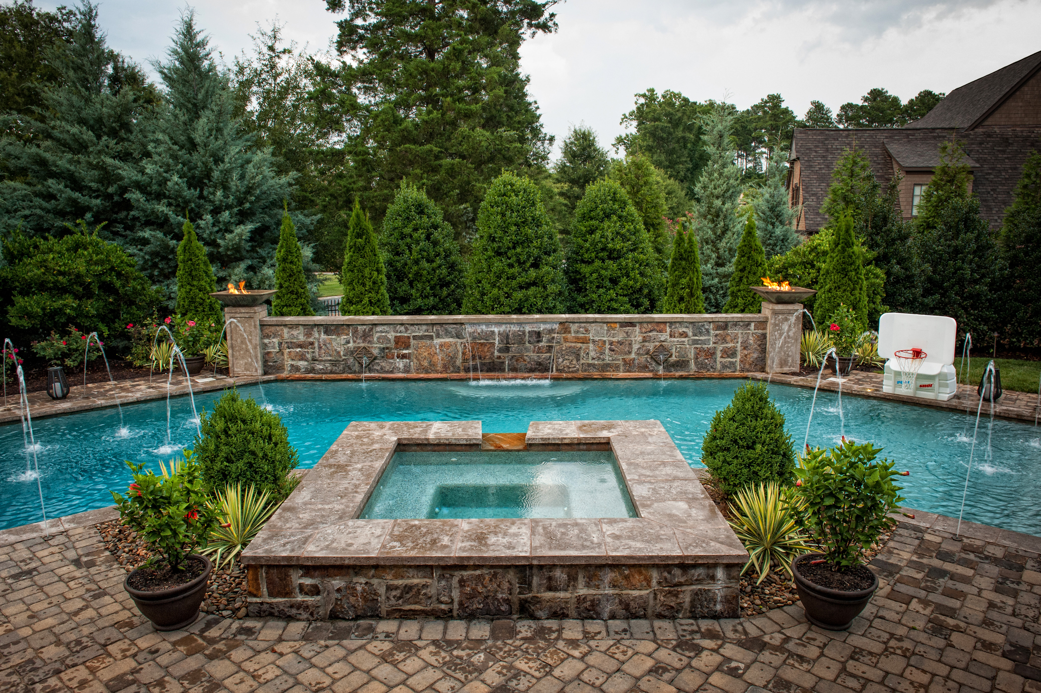 Custom Pools in Charlotte